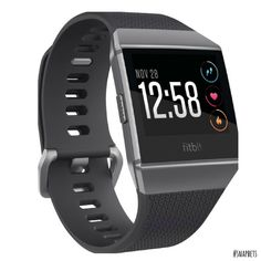 Get the watch designed for your life with the Fitbit Ionic GPS heart rate monitor watch. This motivating timepiece is packed with GPS, heart rate monitoring, fitness guidance, music storage and more. Available at REI, Satisfaction Guaranteed. Smartwatch, Android Wear, Fitbit, Fitness Tracker, Fitness Goals, Fitness Motivation, Cool Watches, Watches For Men, Sport Watches