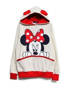 New-Women-Girls-Men-Cartoon-Mouse-Ears-Top-Jumper-T-shirt-Hoodies-Sweatshirt-xp