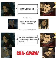 The Legend of Korra/ Avatar the Last Airbender: Avatars have bad head-translators.