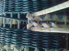 Поделка изделие Плетение Абажур с Наташиным ажуром Бумага газетная Трубочки бумажные фото 3