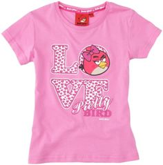 Angry Birds - Maglietta, bambina, Rosa (Rose Clair (Pnk)), 3 anni Angry Birds http://www.amazon.it/dp/B00BWH9NA8/ref=cm_sw_r_pi_dp_aYezvb1FA71AT