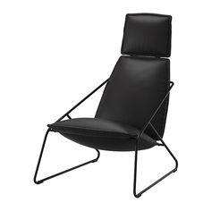 VILLSTAD Stol med høj ryg IKEA Det støbte højspændstige skum gi'r god komfort, der holder i mange år. Den høje ryg gi'r god støtte til nakken.