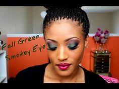 Fall Makeup- Green Smoky Eye