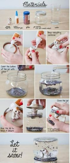How to make crystal water ball from the jar. | #DIY