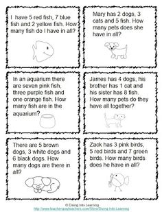 Diving Into Learning: Word Problems Galore!