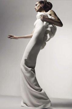 Model: Andreea Diaconu. Photographer: Solve Sundsbo (artandcommerce). Vogue Italia