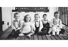 Cutest bunch of kids attending a wedding!
