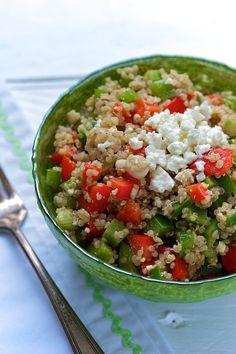 balsamic feta quinoa salad