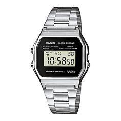 Casio A158WEA-1EF Collection retro horloge