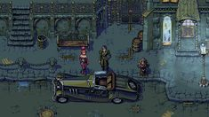 Gothic Dieselpunk - Concept Mockup by Cyangmou (Nice graphic and really cool smooth animation)