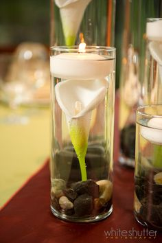rustic elegance table centerpieces using submerged flowers | Springtime Garden Photo Shoot | Event Floral - Your Party is Our ...