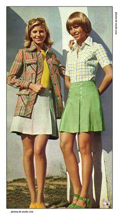 mini jupe 1973