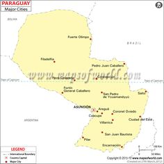 paraguay road map » ..:: Edi Maps ::.. | Full HD Maps