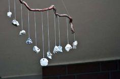Hag Stone Hanging Driftwood Crafts, Seashell Crafts, Beach Crafts, Pebble Stone, Pebble Art, Stone Art, Wicca, Pagan, Hag Stones