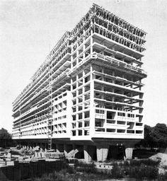 Le Corbusier, Unite Habitation