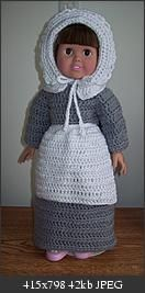 "We Gather Together - 18"" doll"