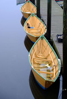 Gloucester Dory boats, beautiful sight.