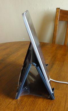 DVD Case iPad Stand Steep Angle