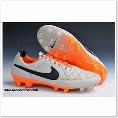 Nike Tiempo Genio Leather V FG 2014 Desert Sand Black Orange  61.00. Best  soccer cleats 225834a25f
