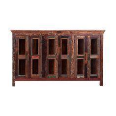 #Buffet con 3 puertas en #madera #reciclada