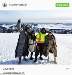 On the other side of the world: At the time Kourtney was celebrating her birthday in Iceland with the likes of singer The Dream, Kanye West and sister Kim Kardashian