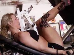 """The Perfect """"Figure 8″ – Part 4: Leg training for a bikini body. In this video, IFBB Bikini Pro Tawna Eubanks shares some of her favorite leg exercises for achieving a beautiful bikini body! She also shares some tips on keeping your body in tip top shape. Follow along as she takes us through her workouts to help sculpt the perfect """"Figure 8."""""""