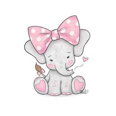 Elefante - Wallpaper's World Baby Elephant Drawing, Baby Animal Drawings, Cute Baby Elephant, Cute Baby Animals, Elephant Drawings, Cute Baby Drawings, Baby Elephants, Baby Elephant Tattoo, Cute Drawings Of Animals