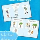 Young children can begin to learn about the most basic parts of speech and grammatical forms.  When exposing and talking about grammar with young c...