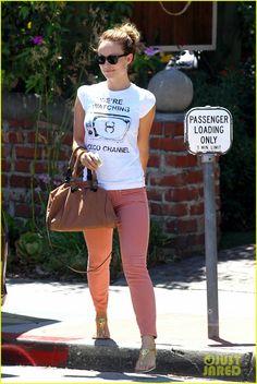 Pantalones color rosa viejo..! Like! #oliviawilde