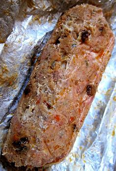 Filipino Embutido are often prepared as long logs that are wrapped in foil and baked. This makes the dish easy to prepare, cook and serve.