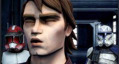 General Skywalker is sleep walking again! Star Wars Baby, Set Me Free, Anakin Skywalker, Star Wars Clone Wars, Starwars, Cute Boys, Halloween Face Makeup, Fox, Walking