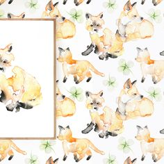 Welcome to the opening of my exhibition BE WILD pt 2 in Stockholm. Malm, Matilda, Diagram, Room Decor, Watercolor, Wallpaper, Fox, Square Meter, Painting