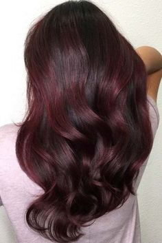 Trendy Hair Colors for Winter 2018 ★ See more: http://lovehairstyles.com/trendy-hair-colors-winter/