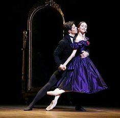 "<<Svetlana Zakharova and Roberto Bolle in ""La Dame Aux Camellias"" # Ballet do Teatro Scala di Milano>>"