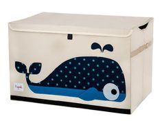 The 3 Sprouts toy chest is the perfect organizational tool for any room. With sides reinforced by cardboard our toy chest stands at attention even when empty and the lid keeps all toys out of sight. Large enough to hold whatever you throw in it, this toy chest adds a pop of fun to every room. The 3 Sprouts toy chest makes organizing a room full of toys easy.