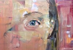 Miriam's eye- Oil on canvas