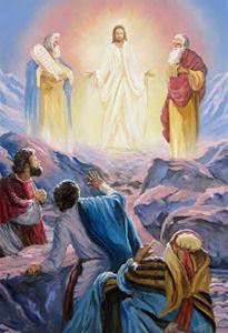 Transfiguration Of Jesus, Sunday School Kids, Heaven's Gate, Padre Celestial, Jesus Christ Images, Christian Cards, Jesus Pictures, Son Of God, Faith In God