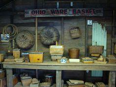Longaberger baskets at Homestead