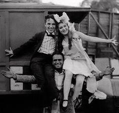 Charlie Chaplin-Mary Pickford -Douglas Fairbanks