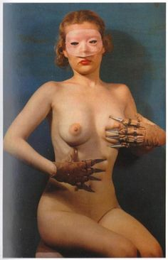 Paul Outerbridge, Woman with claws, 1937