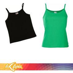 Encuentra tu #camiseta de #tirantes #básica en variedad de colores #Damas2do.Piso #Juvenil