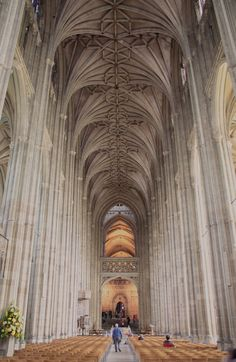 Canterbury Cathedral in Canterbury, Kent, is one of the oldest and most famous Christian structures in England and forms part of a World Heritage Site. It is the cathedral of the Archbishop of Canterbury, leader of the Church of England and symbolic leader of the worldwide Anglican Communion. Its formal title is the Cathedral and Metropolitical Church of Christ at Canterbury. Photo by YunaHeileen.