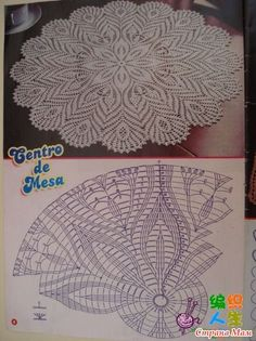 Image gallery – Page 711146597387244079 – Artofit Free Crochet Doily Patterns, Crochet Doily Diagram, Crochet Chart, Crochet Motif, Crochet Designs, Crochet Lace, Filet Crochet, Thread Crochet, Crochet Stitches