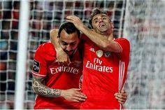 Mitroglou e Jonas, SL Benfica