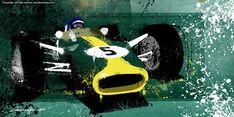 Jim Clark – by artist and designer Michele Leonello.