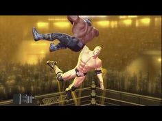 Weakest Link - 6-Man Ladder Match [Elimination] WWE 2K15 Gameplay, Commentary - YouTube