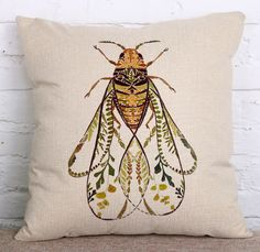 Outstanding farmhouse decor ideas are offered on our internet site. Buy Pillows, Decorative Throw Pillows, Farmhouse Style Kitchen, Farmhouse Decor, Big Bee, Bee Gifts, Bee Art, Bee Theme, Bees Knees