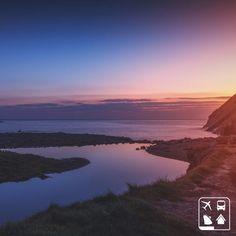 Esse é o pôr do sol na Praia de Duckpool, Inglaterra. Partiu ver pessoalmente? Programe suas férias com a Clube Turismo!  Consulte mais informações: lalasponchiado.home@clubeturismo.com.br  #AmoViajar #ClubePeloMundo #AproveiteSuasFerias #OndeEuQueriaEstarAgora #QueDestinoeEsse #VenhaConhecer