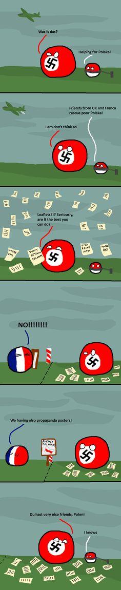 Strange War | Polandballs Countryballs