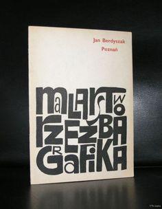 Jan Berdyszak # Poznan, MALARSTOW GRAFIKA # 1969, typography, nm